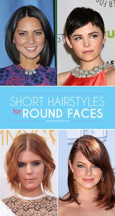 9f7453f9ea0 Flatter your round face with tips from two expert hair stylists.  RoundFace   HairCuts