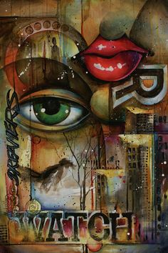 Urban Design by Michael Lang - Urban Design Painting - Urban Design Fine Art Prints and Posters for Sale