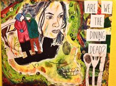 The Dining Dead by ThePoliteWolf on Etsy
