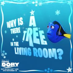 It's beginning to look a lot like Christmas… not that Dory has noticed...! Take Dory and all your favourites home today from Sainsbury's