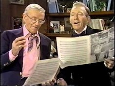 """Bing Crosby & Fred Astaire - """"Sing"""" ~ This is so precious!"""