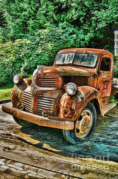 Old Dodge Truck photographed in Telegraph Cove, B.C. www.rharrisphotos.com