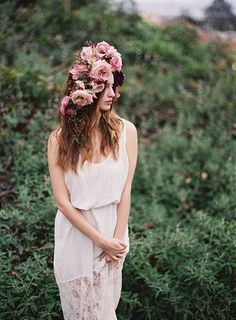 Floral Crown by Fallon Shea and Jess Wilcox