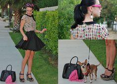 Pop of Pink (by Kier Mellour) http://lookbook.nu/look/3730681-Pop-of-Pink