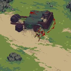 Injury - Saw this and immediately asked what happened here? This piece certainly evokes a story. Nail Bat, Dungeons E Dragons, Pixel Art Background, Pixel Characters, Pixel Art Games, Pixel Design, Glitch Art, Sprites, Environmental Art