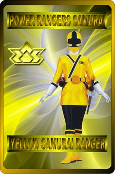 Yellow Samurai Ranger by rangeranime on Power Rangers Fan Art, Power Rangers Ninja Storm, Power Rangers Samurai, Mighty Morphin Power Rangers, Naruto Sage, Power Rangers Megaforce, Power Rengers, Female Characters, Fictional Characters