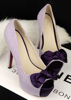 Looks like a great site for cheap, great shoes!Christian Louboutin Lady Daf Suede Pumps Plum For Cheap, Best Choice, Order With Great Surprise!Cheap Bridal Shoes purple sweet silk bow high-heeled shoes fish head waterproof Taiwan banquet we Pretty Shoes, Cute Shoes, Me Too Shoes, Cheap Bridal Shoes, Wedding Shoes, Women's Shoes Sandals, Dress Shoes, Christian Louboutin, Purple Shoes