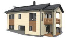 Kodikas R 126 -puutalo / Puutalo - puutalopaketti Tampere, puutalo Tampere, puutalo suurelementeistä | Suomen Kodikas-Talot Oy, Tampere