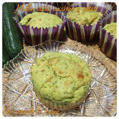 Muffin salati zucchine e patate