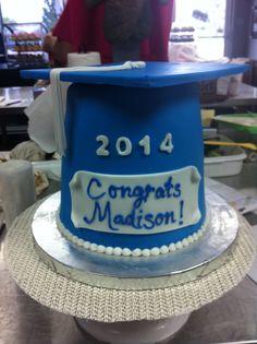 Graduation Cap Cake