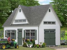 Custom 2 story shed google search lake house for Two story shed plans free