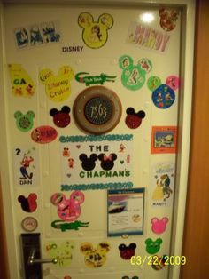 Disney Cruise Door Decoration Examples