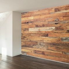 Trendy Wooden Wall Decal