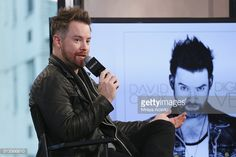 News Photo : American singer-songwriter David Cook from...