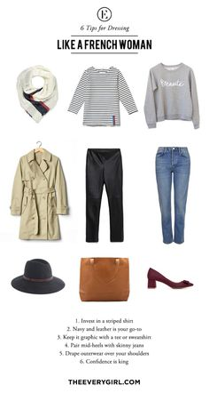Tips for Dressing Like a French Woman | The Everygirl