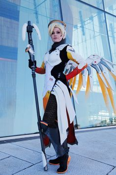Chrix Design: Building Mercy's costume (Overwatch) - nice making  of