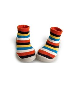 Collegien Slipper Socks PLAY Le jongleur stripes