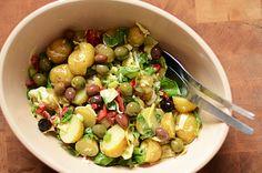 Kartoffelsalat med artiskokker og vinaigrette!