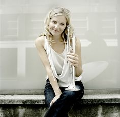 Alison Balsom. Saw her perform in St. Paul last year. She is AMAZING!
