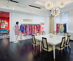 Look Inside Kate Spade and Jack Spade's 85,000-Square-Foot N.Y.C. Showroom - THE READY-TO-WEAR SHOWROOM - from InStyle.com