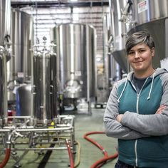 Hollie Stephenson is the new head brewer at Asheville's Highland Brewing Co.