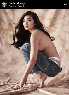 Nadine Lustre poses with her birthday suit on her birthday - The Fanboy SEO Filipina Beauty, Filipina Actress, Beautiful Asian Women, Beautiful Celebrities, Beautiful Moon, Nadine Lustre Outfits, Lady Luster, Hollywood Girls, Jadine