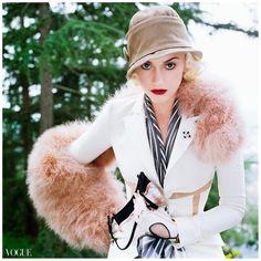Gwen Stefani, Vogue April 2004