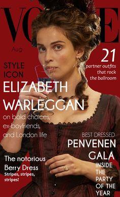 Elizabeth Warleggan August 2017
