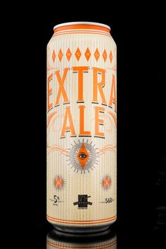 Extra Ale, by Longwood Brewery. Product Naming, Branding & Packaging Design by Hired Guns Creative.