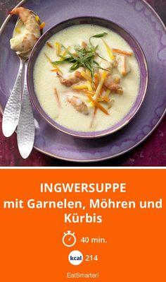 Low Carb ist diese Suppe allemal. Schön scharf im Geschmack und dazu noch eine tolle Eiweißquelle mit den Garnelen.