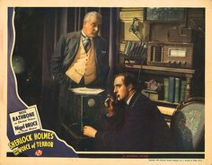 Lobby Card from the film Sherlock Holmes And The Voice Of Terror