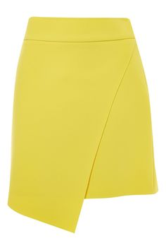 Perfect your on-duty look with this chic wrap mini skirt with a raw edge waistband for a cool touch. Weve styled with a crisp white shirt for a contrasting feel. Cute Skirts, Mini Skirts, Crisp White Shirt, Just For You, Topshop, Chic, Women's Fashion, Coats, Search