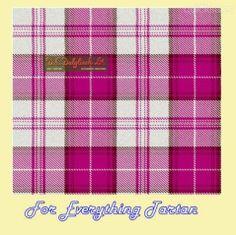 Menzies Dress Cerise Dalgliesh Dancing Tartan Wool Fabric 11oz Lightweight  by JMB7339 - $115.00