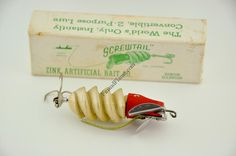 Zinc Screwtail Antique Lure (1946)