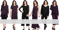 Save 40% Off FLAX In-Motion 2016 at Fg Clothing today (3-21-17). #FLAXdesign FLAX In-Motion 2016 collection
