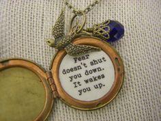 Divergent Quote Locket divergent inspired by CHAiNGEthesubject, $28.00 ♥♥♥♥