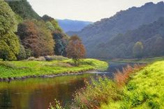 British-landscape-paintingsPaintings By British Artist Michael James Smith