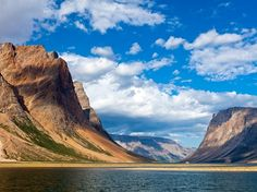 "Named for the Inuktitut word for ""place of spirits,"" the Torngat Mountains are the highest in mainland Canada east of the Rockies"