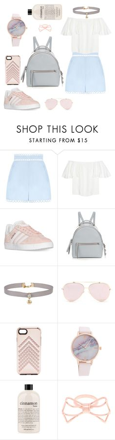 """Sweet Style"" by foodiefashion ❤ liked on Polyvore featuring Zimmermann, Valentino, adidas, Fendi, Miss Selfridge, Rebecca Minkoff, philosophy, Ted Baker, cute and love"