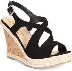 5fc325573 Brielle Espadrille Platform Wedge Sandals