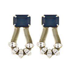 Clara Earrings in Midnight