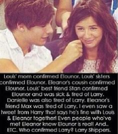 BOOM BOOM BOOM BOOM BOOM....BAM! #sorrynotsorry>>>preach <><> not that I don't ship Larry, but I ship it as a BROMANCE. I ship Elounor as a RELATIONSHIP. there's a difference, people!