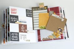 Crafty by AgnieszkaBe: Hey Little Magpie Autumn Day, Hello Autumn, Fall, Happy We, Scrapbook Albums, Magpie, Hello Everyone, Mini Albums, Crafty