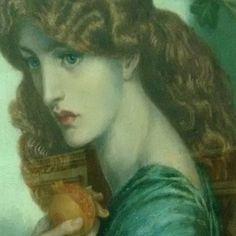 Visiting the pre-raphaelites at Birmingham Art Museum. Fabulous Rossetti.