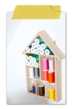 :: Werkkamer opruimen: Opberg tips! ::    My workspace: Storage sewing yarn