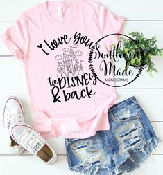 Travel The World Photography United States Printing Videos Fabric Fashion Disneyland Outfits, Disneyland Shirts, Disney Diy, Cute Disney, Disney Dream, Disney Shirts, Disney Outfits, Disney Style, Cute Outfits