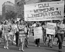 Women's Liberation Movement:  For well over a decade hundreds of thousands of American women turned out for massive demonstrations, overturned discriminatory laws through legislation and court action, broke new ground by entering male dominated professions (law, medicine, clergy, corporate and blue-collar), and initiated a vast array of new institutions such as rape crisis centers, shelters for battered women, feminist journals, health clinics, and coffee houses.