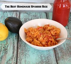 The Best Homemade Spanish Rice... my family loves it and it's very easy to make