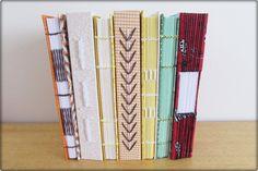 Encadernação. Bookbinding  http://www.elo7.com.br/arteytecido