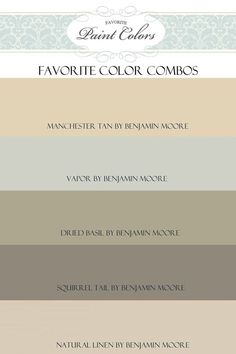 Benjamin Moore Colors by mollie